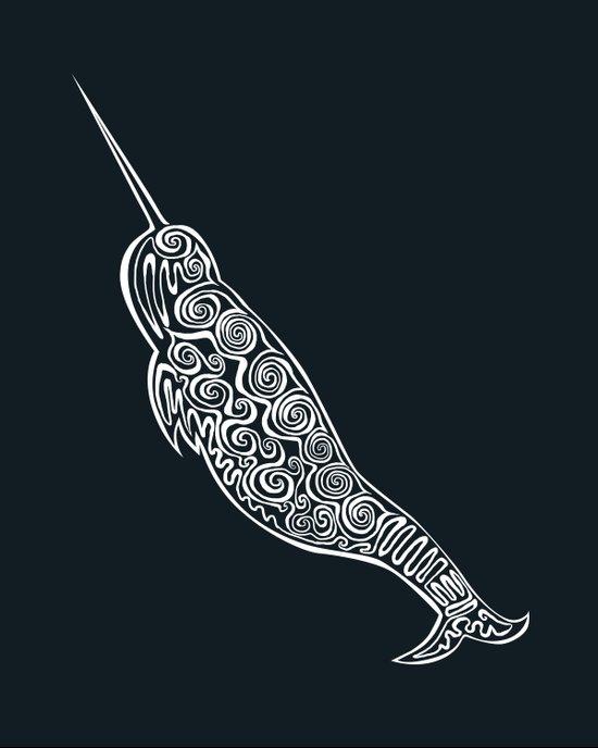 Narwhal Art Print