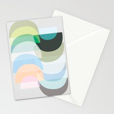 Pastel Geometry 3 Stationery Cards