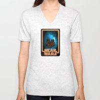 Bear Wars - the Wawas Unisex V-Neck