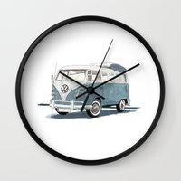 Volkswagen Transporter Wall Clock