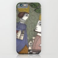 iPhone Cases featuring My Father, the King by Judith Clay