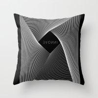 INNOVE - Black edition Throw Pillow
