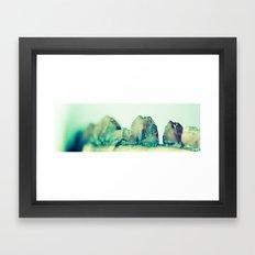 The Teeth of Cork Framed Art Print