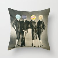 Modern Fashion Throw Pillow