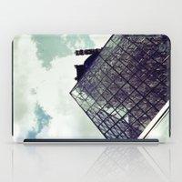 Louvre Pyramid I iPad Case