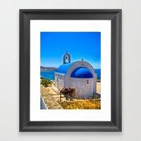Mykonos, Greece Framed Art Print