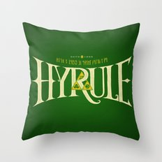 Hyrule Nation Throw Pillow