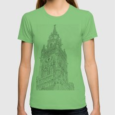 Tower of Big Ben Womens Fitted Tee Grass SMALL