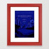 The Hawthorns, Home of Framed Art Print