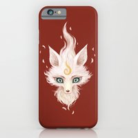 iPhone & iPod Case featuring White Fox by Freeminds