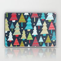 Christmas Trees Laptop & iPad Skin