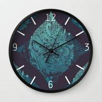 Detailed diamond Wall Clock