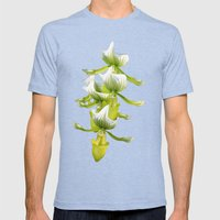 Green Orchid Mens Fitted Tee Tri-Blue SMALL