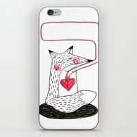 From the heart. iPhone & iPod Skin
