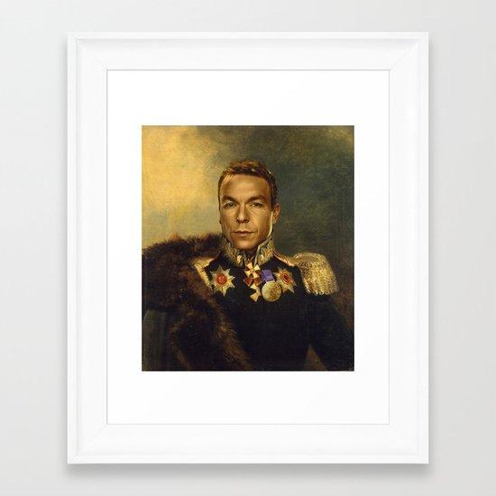 Sir Chris Hoy - replaceface Framed Art Print