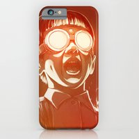 gold iPhone & iPod Cases featuring FIREEE! by Dr. Lukas Brezak