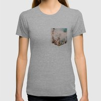 Coachella Womens Fitted Tee Athletic Grey SMALL