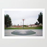 Basketball Sanctuary Art Print