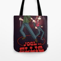 Joel and Ellie VS. the World Tote Bag