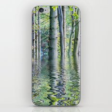 SERENE GREEN SCENE iPhone & iPod Skin