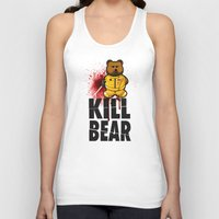 KILL BEAR Unisex Tank Top