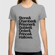 Stone & Chamber & Prison… Womens Fitted Tee Tri-Grey SMALL