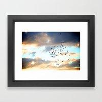 Don't Break Formation Framed Art Print