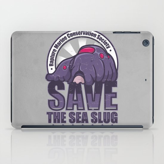 Save The Sea Slug iPad Case