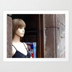 Morelia Mannequin  Art Print