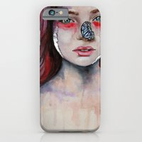 iPhone & iPod Case featuring Where There Are Butterflies  by Bella Harris