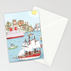 The Harbor Stationery Cards
