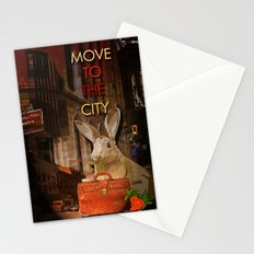 Move to the city Stationery Cards