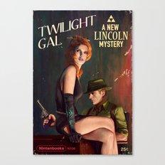 Twilight Gal Canvas Print