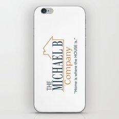 The Michael B Company iPhone & iPod Skin