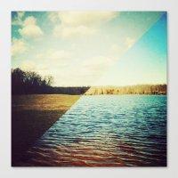 land/water Canvas Print