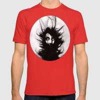 Coiling And Wrestling. D… Mens Fitted Tee Red SMALL