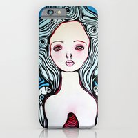 iPhone & iPod Case featuring How He Saw Her by Braidy Hughes