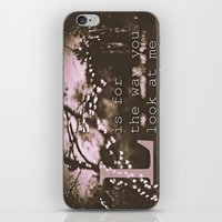 L Is For The Way You Loo… iPhone & iPod Skin