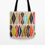 Tote Bag featuring MCM Diamond by Lisa Jayne Murray - …
