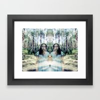 inwoods Framed Art Print