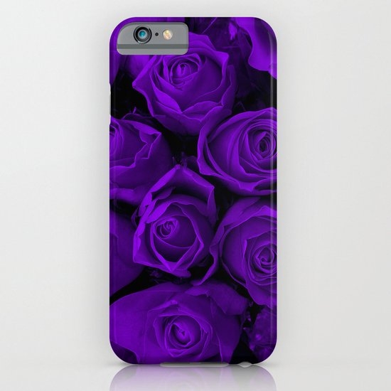 Purple Roses iPhone & iPod Case