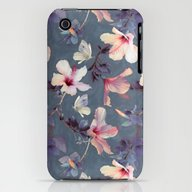 iPhone & iPod Case featuring Butterflies And Hibiscus… by Micklyn