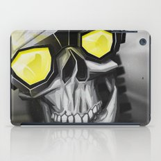 Skull and bones iPad Case