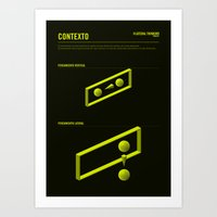The LATERAL THINKING Pro… Art Print