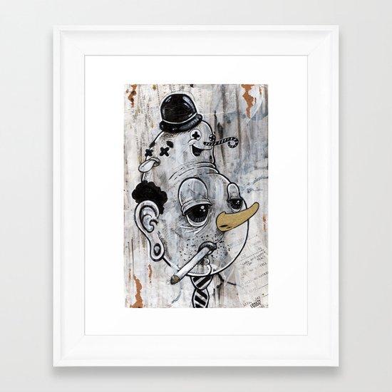 """Tie~rrrd"" Framed Art Print"