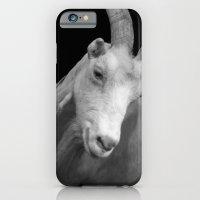 iPhone & iPod Case featuring black goat by Farkas B. Szabina
