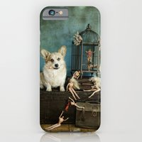 iPhone & iPod Case featuring The TJ Hefner Mansion by Carla Broekhuizen