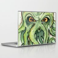 Cthulhu Laptop & iPad Skin