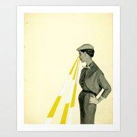 Observing Art Print