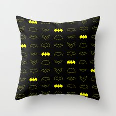 batpatt2 Throw Pillow